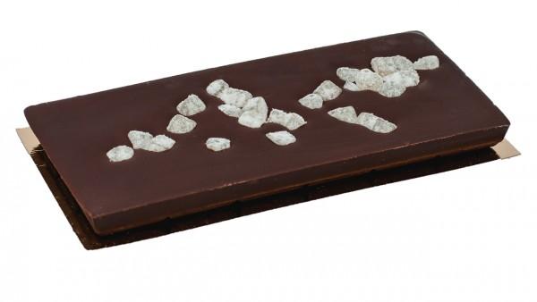 Zartbitterschokolade mit Ingwer