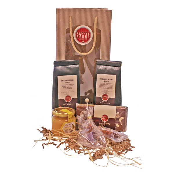 """Geschenkset """"Tee und Honig aus dem Allgäu"""""""