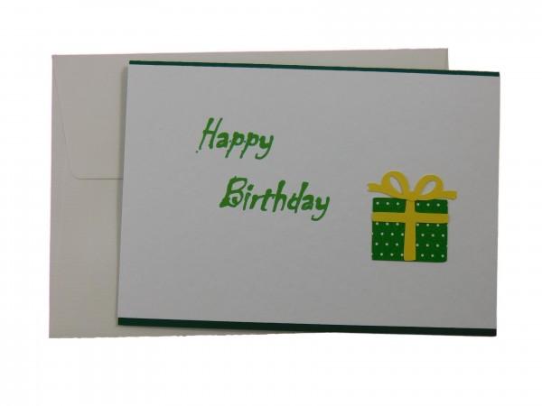 Glückwunschkarte Happy Birthday